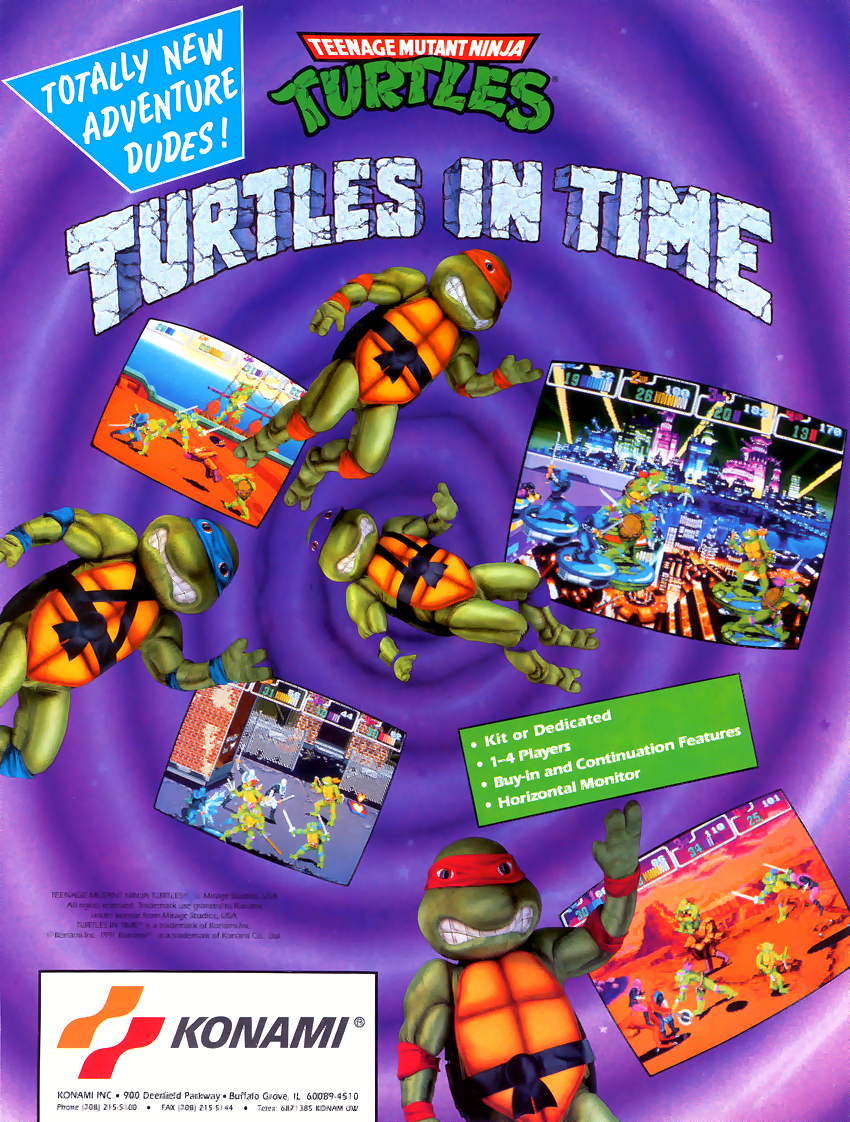 Turtles in Time Arcade or SNES? - The Technodrome Forums