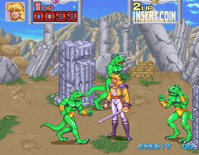 Arcade Game Manual: Metamorphic Force by Konami : Free ...