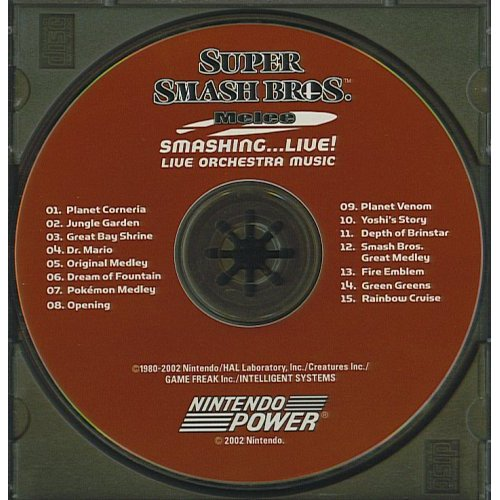 Super Smash Bros Melee Smashing Live CD Scan