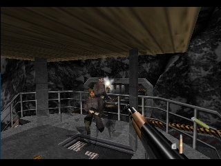 007 - GoldenEye (Japan) In game screenshot