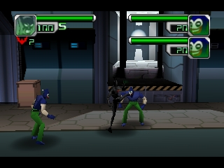 Batman Beyond - Return of the Joker (USA) In game screenshot