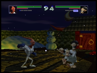 Clay Fighter 63 1-3 (USA) (Beta) In game screenshot