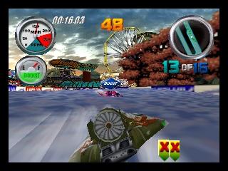 Hydro Thunder (USA) In game screenshot