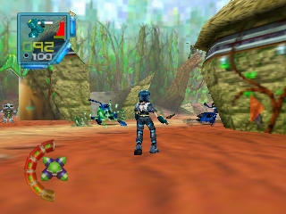 Jet Force Gemini (USA) In game screenshot