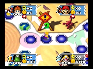 Mario Party 3 (USA) In game screenshot