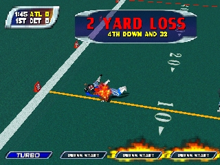 NFL Blitz - Special Edition (USA) In game screenshot