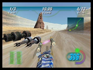 Star Wars Episode I - Racer (Europe) (En,Fr,De) In game screenshot