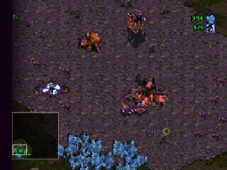 StarCraft 64 (USA) In game screenshot