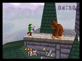Super Smash Bros. (Europe) (En,Fr,De) In game screenshot