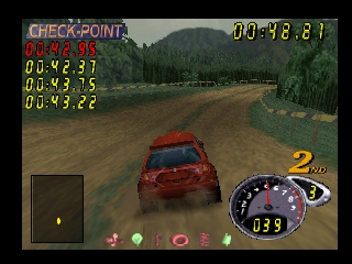 Top Gear Rally 2 (USA) In game screenshot