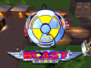 Blast Corps (Europe) (En,De) Title Screen