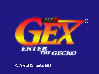 Gex 64 - Enter the Gecko (USA) Title Screen