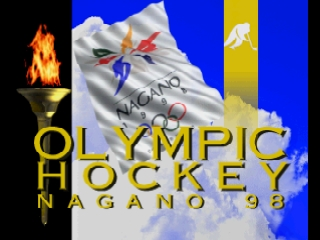 Olympic Hockey Nagano '98 (Europe) (En,Fr,De,Es) Title Screen