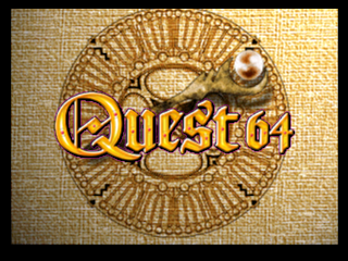 Quest 64 (USA) Title Screen