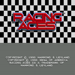 Racing Aces (U) Title Screen