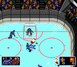 EA Hockey (Europe) In game screenshot
