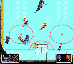 EA Sports Double Header (Europe) In game screenshot