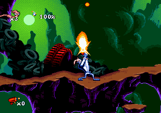 Earthworm Jim (USA) ROM < Genesis ROMs | Emuparadise