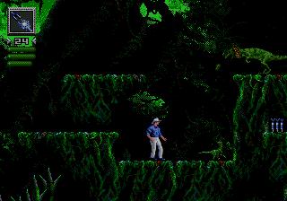 Jurassic Park (USA) In game screenshot