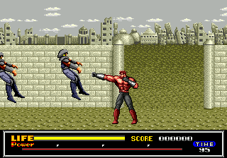 Last Battle (USA, Europe) In game screenshot