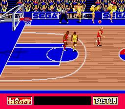 Pat Riley Basketball (USA) In game screenshot