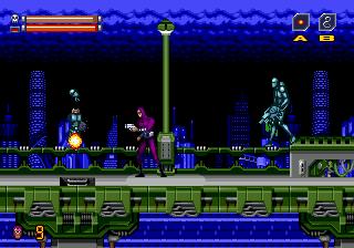 Phantom 2040 (USA) In game screenshot