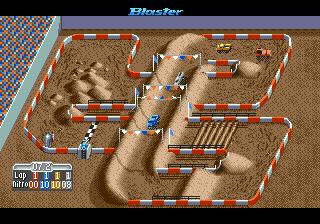 Super Off Road (USA) In game screenshot
