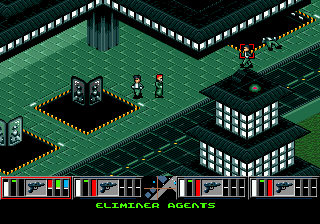Syndicate (USA, Europe) In game screenshot