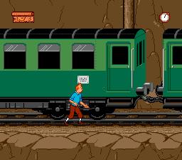Tintin au Tibet (Europe) (En,Fr,De,Es,Nl,Sv) In game screenshot
