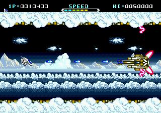 Whip Rush (USA) In game screenshot