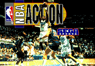 NBA Action '94 (USA) Title Screen