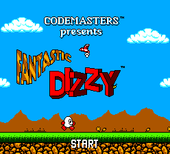 Fantastic Dizzy (Europe) (En,Fr,De,Es,It) Title Screen