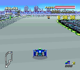 F-Zero (USA) In game screenshot