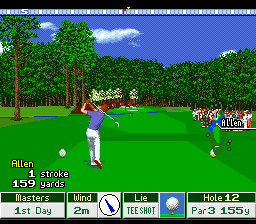 Harukanaru Augusta 2 - Masters (Japan) In game screenshot