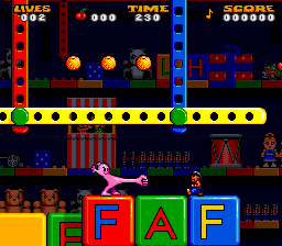 Jelly Boy (Europe) In game screenshot