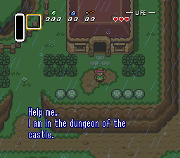 Legend of Zelda, The - A Link to the Past (USA) In game screenshot