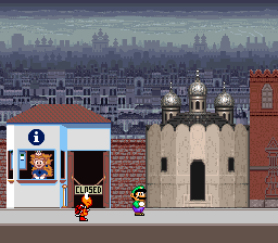 Mario is Missing! (USA) In game screenshot