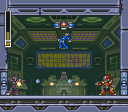 Rockman X3 (Japan) In game screenshot