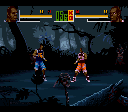 Shaq Fu (USA) In game screenshot