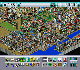 SimCity 2000 (USA) In game screenshot