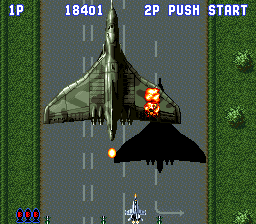 Sonic Wings (Japan) In game screenshot