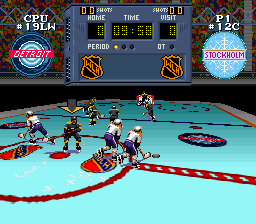 Super Hockey (Europe) In game screenshot