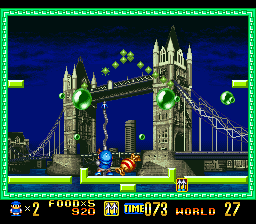 Super Pang (Europe) In game screenshot