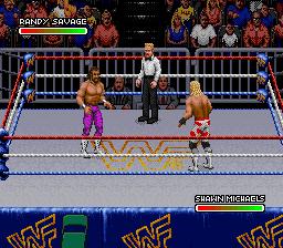 WWF Royal Rumble (Japan) In game screenshot