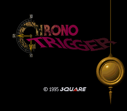 Chrono Trigger (USA) Title Screen