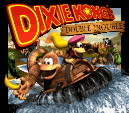 Donkey Kong Country 3 - Dixie Kong's Double Trouble! (USA) (En,Fr) Title Screen