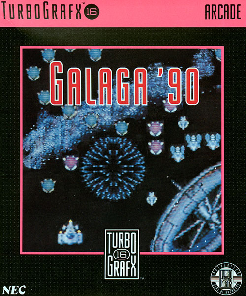 Galaga '90 (USA) Box Scan