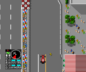 F1 Circus '91 - World Championship (Japan) Screenshot 1
