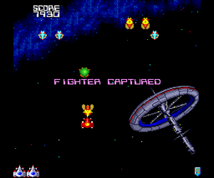 Galaga '90 (USA) Screenshot 1