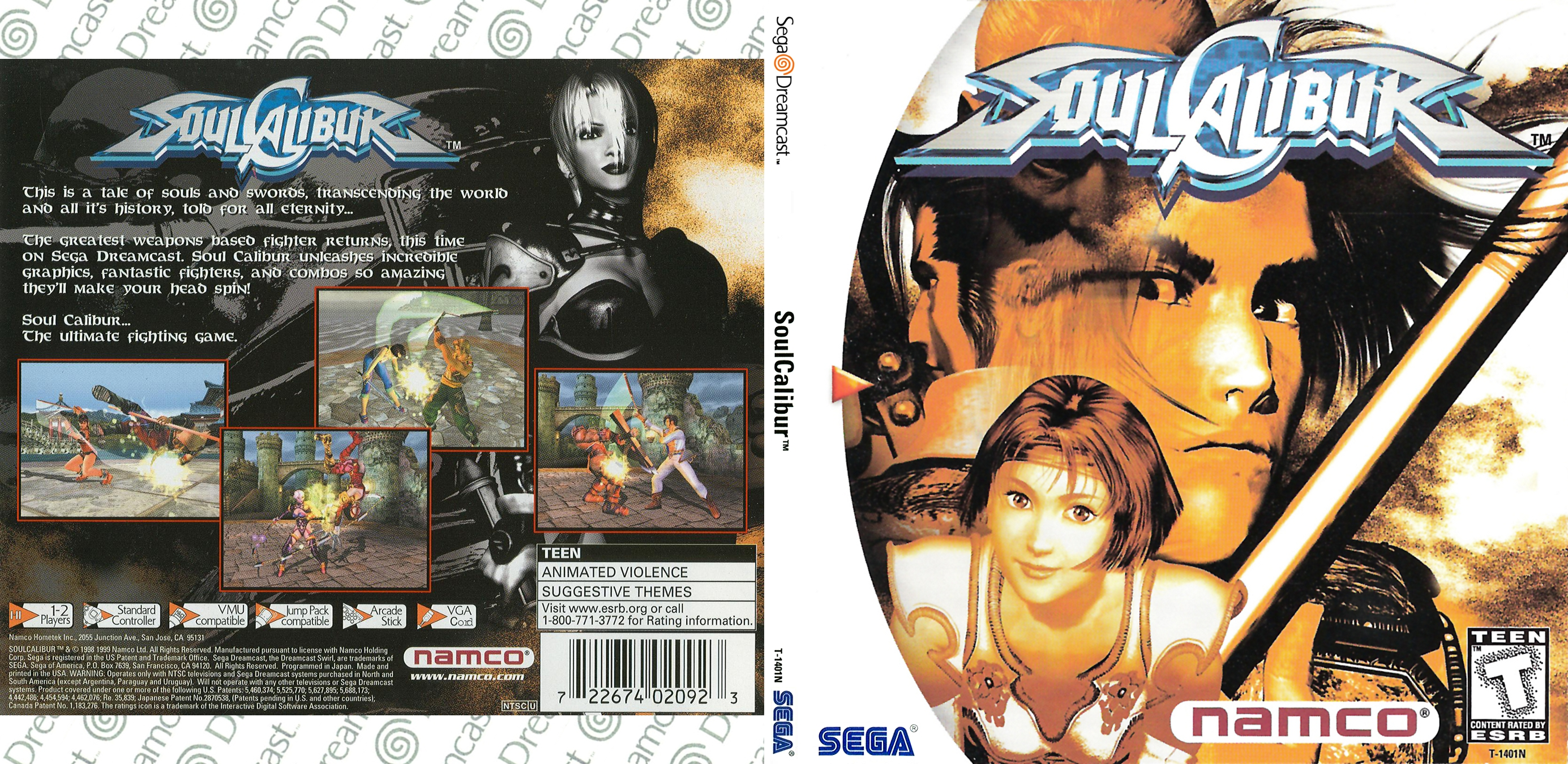 mega nz] Soul Calibur - (USA, EUR) (CDI) - (DC) Game Downloads